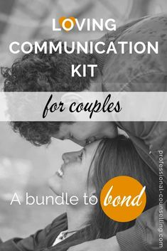 Front cover Loving Communication Kit for Couples - a bundle to bond How To Improve Relationship, Relationship Building, Communication, Bond, How To Become, Positivity, Kit, Couples, Cover