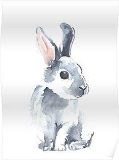 Moon Rabbit II Posters