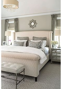 If you're anything like me, your bedroom is your favorite place to escape to and relax. With a relaxing styled bedroom, it would make resting a lot more enjoyable. I have rounded up 15 relaxing bedrooms that will inspire you!