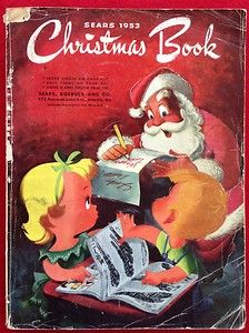 """1953 Sear's """"Christmas Book"""" ~ I browse through it each and every Christmas stirring up pleasant memories of my old vintage childhood toys ♥"""