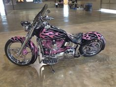 Gallery For > Pink Harley Davidson Bike