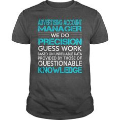 Awesome Tee For Advertising Account Manager T-Shirts, Hoodies. CHECK PRICE ==► https://www.sunfrog.com/LifeStyle/Awesome-Tee-For-Advertising-Account-Manager-Dark-Grey-Guys.html?id=41382