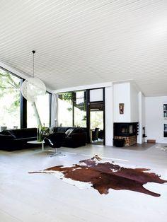 Danish Modern Living Room, Architecture By Jørn Utzon. Scandinavian Living,  Scandinavian Interior,