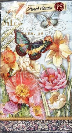 Free Collage Sheets For Pendants Collage Sheets Napkin Decoupage, Decoupage Art, Decoupage Vintage, Vintage Ephemera, Vintage Paper, Victorian Flowers, Vintage Flowers, Paper Art, Paper Crafts