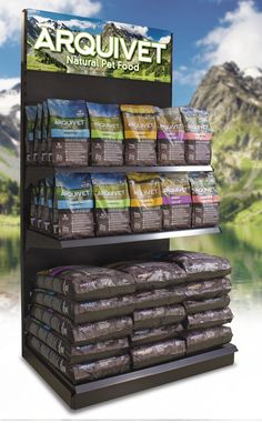 Expositor para piensos Arquivet Natural Pet Food