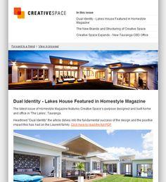 Creative Space by newsletter design Mark Shingleton