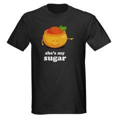 """""""she's my sugar"""" couple t-shirt"""