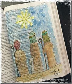 Bible Art Shepherds Keeping Watch                                                                                                                                                                                 More