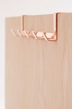 Shop Yamazaki Minimal Over-The-Door Hook at Urban Outfitters today. We carry all the latest styles, colors and brands for you to choose from right here. Rose Gold Room Decor, Rose Gold Rooms, Gold Bedroom Decor, Bedroom Ideas, Girls Bedroom, Storing Towels, Over The Door Hooks, Shower Accessories, Gold Accessories