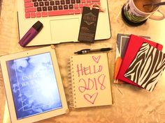 Happy New Year! Here we go again! :D #newyeargoals #lists #yearlygoals #2018goals