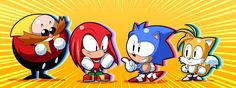Chibi Sonic and company