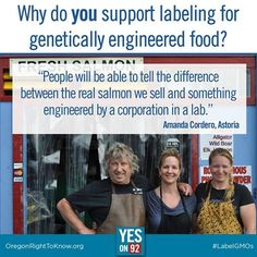 Oregonians support Yes on 92! Do you? Join us: http://oregonrighttoknow.ngpvanhost.com/form/2620258645362149120?ms=SO.AUI #yeson92 #GMOs #LabelGMOs #righttoknow
