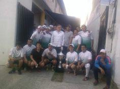 Llegando de Tlaxcala como campeones Equipo Fstse y con el diputado