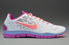 check out bc9cb 4c0aa Nike Womens Free TR Fit 3 - Womens Running Shoes - Summit White-Atomic Pink