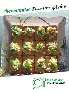 Pasta serowo czosnkowa z orzechem jest to przepis stworzony przez użytkownika pauliskaOs. Ten przepis na Thermomix® znajdziesz w kategorii Przystawki/Sałatki na www.przepisownia.pl, społeczności Thermomix®. Food, Diet, Thermomix, Essen, Meals, Yemek, Eten