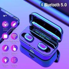 Toucher /écouteurs /Écouteurs Bluetooth /écouteurs st/ér/éo Intra-Auriculaires l/égers avec Microphone /à Suppression de Bruit pour iOS Airpods Android Iphone