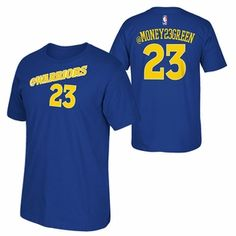 Golden State Warriors adidas 2015 Draymond Green Social Media Tee - Blue