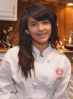 """Marshall HS student Nicole Caceres is sizzling hot right now! Her culinary skills have won her special recipe for """"Black Bean Mole Stew"""" a place on the menu at Border Grill in Downtown LA and Santa Monica. She took top honor and a $ 5000 scholarship at the first annual Careers through Culinary Arts Program Meatless Monday contest.     Try her recipe here:   http://epi.us/x4pa1j"""