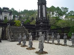 The imperial city of Hue intrigues tourists with a keen appreciation of history.