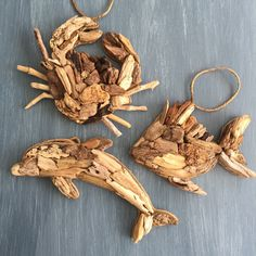 Need some unique Christmas gifts? I have some great coastal driftwood ornaments!! The holidays are fast approaching check out my shop!