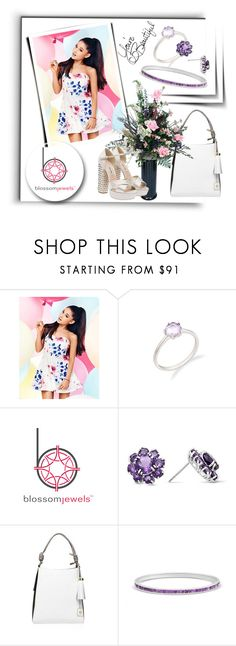 """""""Untitled #223"""" by melissa995 ❤ liked on Polyvore featuring Lipsy, Kurt Geiger, LIST, Miu Miu and Blossomjewels"""