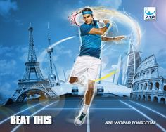 New global promotional campaign ATP BEAT THIS - Roger Federer