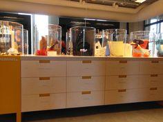 Textielmuseum, Tilburg, Uitnodigende opstelling