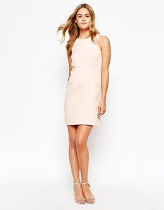 Image 4 of River Island Textured Shift Dress