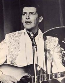 """Franklin Delano Reeves (July 14, 1932 – January 1, 2007), better known as Del Reeves. Prior to switching to country music he recorded several songs for Capitol considered Rockabilly. One called """"My baby loves to rock"""" was popular and can be found on Your Tube. Later he became one of the most successful male country singers of the 1960s."""