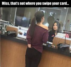 WTFUDGE Oh No She did not do that AT The Flippin Bank In Line OMG....NASTY