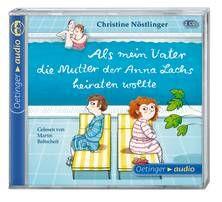 Als mein Vater die Mutter der Anna Lachs heiraten wollte (2 CD) - Nöstlinger / Baltscheit (ab 8 Jahren)