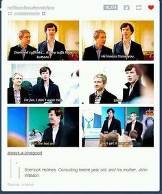 ...and his mother, John Watson...