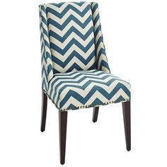 Owen Wingback Dining Chair - Vibes Teal