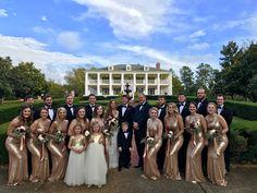 Bridal Party at Sanctuary Estate