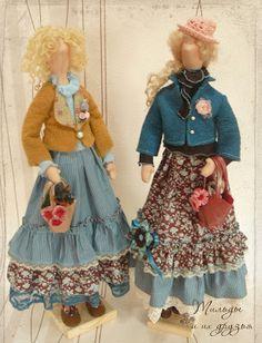 Текстильные куклы Бохо, по мотивам Тильда, а так же тильды феи и ангелы