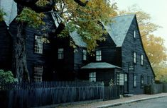 House of Seven Gables, Salem, MA, built in 1668, one of the oldest timber frame homes in North America.
