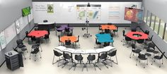 Balt Collaborative Student Classroom Desks