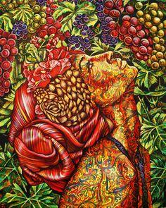 "Saatchi Art Artist Jekaterina Razina; Painting, """"Portrait"". Sold."" #art"