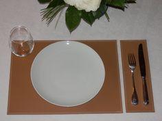 Set de table Duo cuir