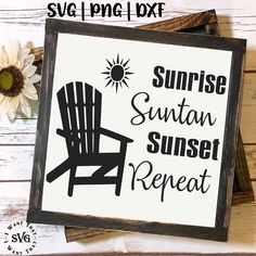 Spring Summer Svg Dxf Png Cutting Files