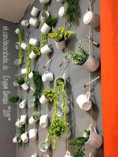 Cafe Shop Design, Coffee Shop Interior Design, Bakery Design, Restaurant Interior Design, Decoration Restaurant, Deco Restaurant, Modern Restaurant, House Plants Decor, Plant Decor