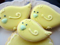 Bird Cookies / Baby Shower