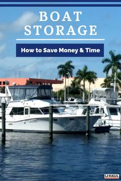 It can be expensive and time-consuming to maintain a boat in a dock. Learn how storage can save you time and keep more money in your pocket. Boat Storage, Self Storage, Storage Solutions, Storage Ideas, Small Apartments, Things To Know, Saving Money, The Unit, Pocket