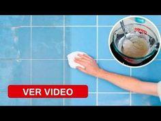 Este Método Limpia Azulejos y es el Unico que Realmente deja el Piso como Acabado de Poner - YouTube