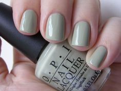 OPI Stranger Tides - This is my Tranquil. It's kind of sage-y gray-green.