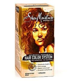 Shea Moisture Hair Color - Medium Chestnut Brown Kit (Pack of 3) -- Details can be found by clicking on the image.