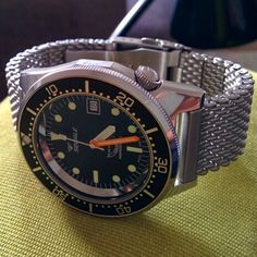 Squale 1521 Dream Watches, Old Watches, Wrist Watches, Vintage Watches, Watches For Men, Squale Watch, Diving Watch, Affordable Watches, Time Capsule