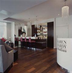 Karen Hardy dance studio and bar, Chelsea. Andrew Wood Associates. www.andrewwoodassociates.co.uk