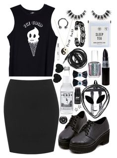 """""""Untitled #178"""" by bettercallthewahbulance ❤ liked on Polyvore featuring Valfré, ASOS, Monsoon, Essie, Urbanears, Betsey Johnson, Kreepsville 666, Lancôme and philosophy"""