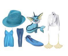 Vaporeon oooooh i love the hat Pokemon Trainer Outfits, Pokemon Outfits, Pokemon Costumes, Cartoon Outfits, Pokemon Cosplay, Anime Outfits, Disney Outfits, Nerd Fashion, Fandom Fashion